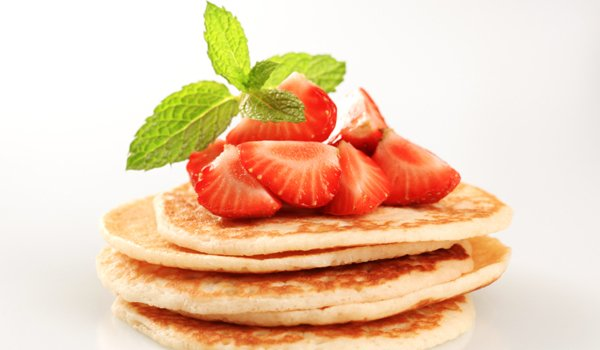 Strawberries & Pancakes